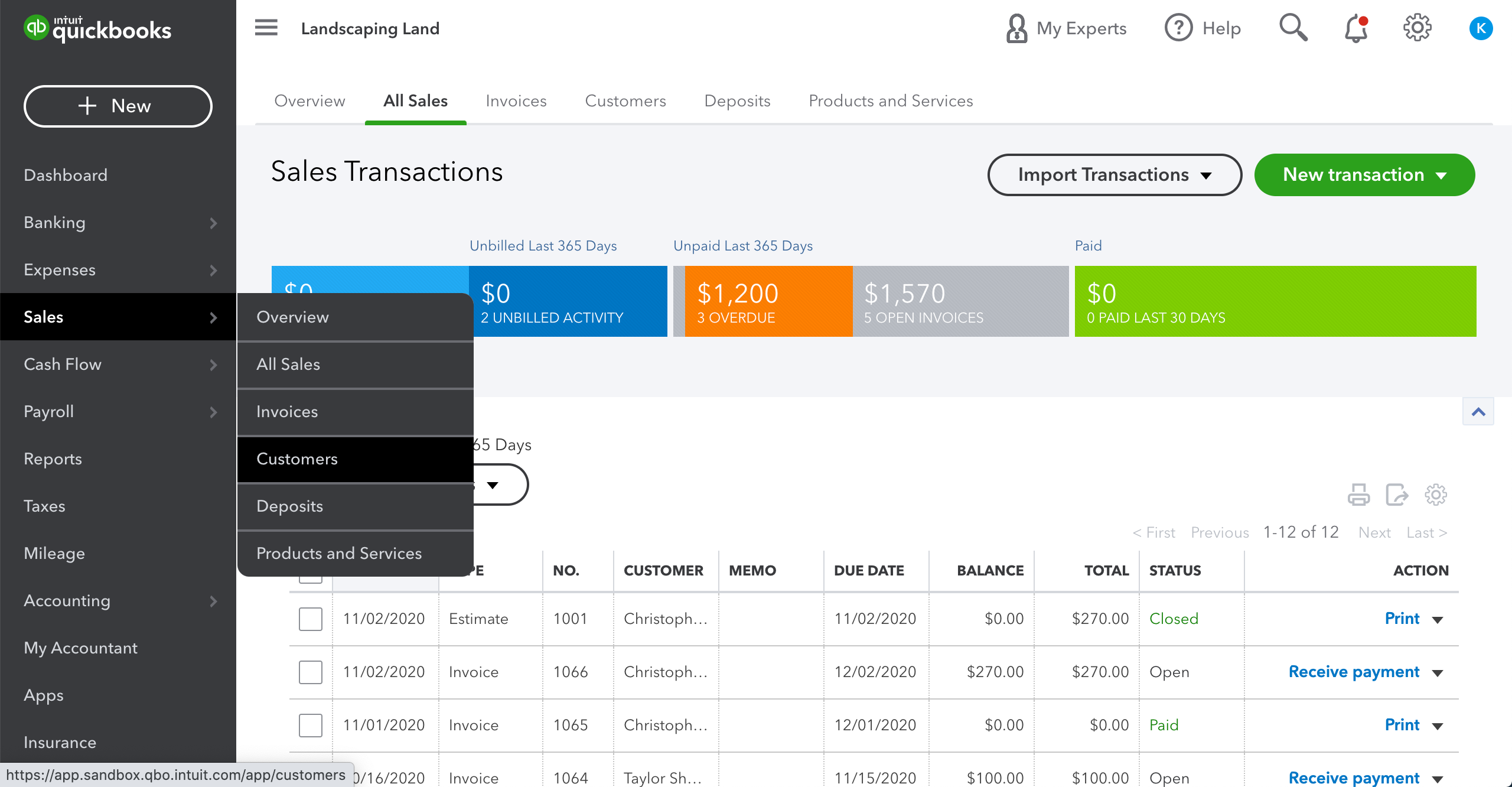 quickbooks-dashboard-sales-customers.png